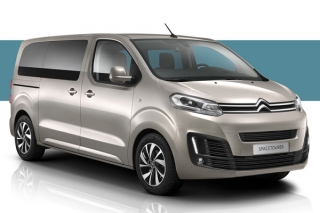 Noleggio auto Citroen Automatic Spacetourer Long Body 2018-2019