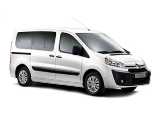 Rental Car Citroen Jumpy Turbo Diesel LONG BODY 2015-2016
