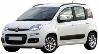 Fiat Panda 2013-2014 Car Rental in Rethymnon, Crete