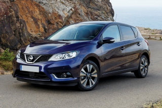 Nissan Pulsar 2017-2019 Turbo 115ps Car Rental in Rethymnon, Crete