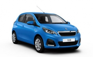 Peugeot 108 2014 Car Rental in Rethymnon, Crete