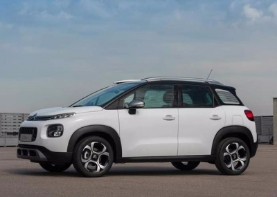 Citroen Aircross turbo 110ps 2018 Car Rental in Rethymnon, Crete