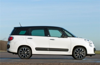 Fiat 500L 2018 Automatic Car Rental in Rethymnon, Crete